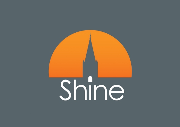 Logo design for the Shine project
